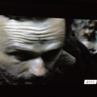 Rick goes primal, busts Joe's nose with the back of his head...then goes slo-mo...he's hulking out...Rick, Smash!