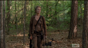Carol in the woods