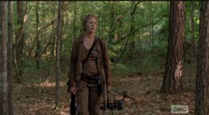 Carol in the woods