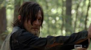 Daryl sees Carol 1