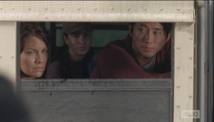 Glenn and Maggie leaving...it just doesn't feel right!