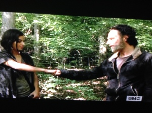 Rick Grimes isn't one to leave a sister hanging.