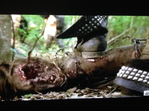 I am coveting Michonne's boots so hard right now.