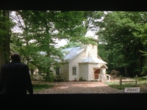 Gabriel's church, which was built on from scratch on the WD set