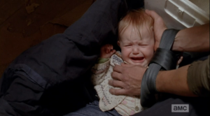 Don't you hurt that baby, you Terminal A-hole!