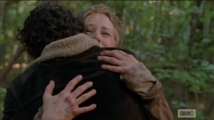 Now, remember this moment, you two...you are friends, remember that!