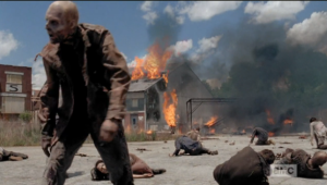 walkers gonna party at terminus