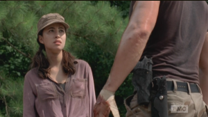 abraham gets scary on rosita 2