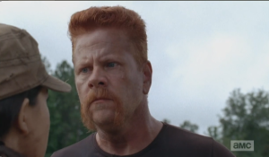 abraham gets scary on rosita