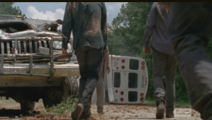 ...and here come the walkers.