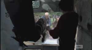 busting out of the bus