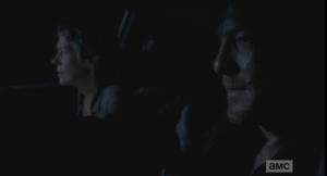 New Carol riding shotgun.