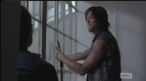 Daryl asks Carol about how he was before and now