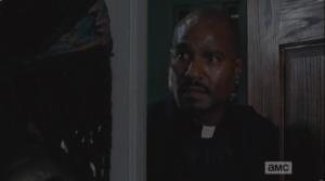 gabriel sketchy at the door