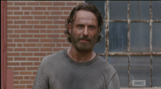 ...but Deputy Rick Grimes is a beautiful hero. No comparison, son.