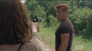 maggie goes click on abraham