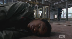 ...running off, and leaving Sasha unconscious on the floor, alone in the warehouse. Not good, so not good!