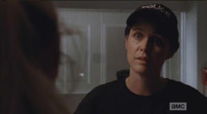 Dawn looks right at Beth, then, and tells her that in this job, not everyone is going to like whoever is in charge, but they need to respect that person.