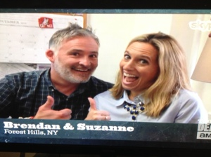 Brendan and Suzanne, the wacky swinger couple whose