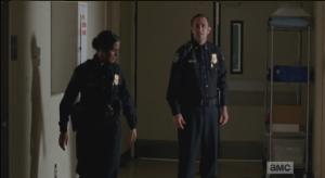 Officer OD challenges Beth,