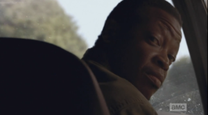 Bob turns to look at Tyreese.