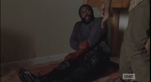 noah tells tyreese to stay put, hell get them