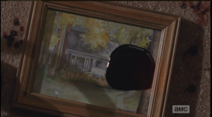 picture framed house and final blood
