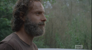 rick asks michonne what did she hear