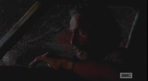 rick in shotgun walker slime