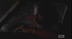 rick in shotgun walker slime