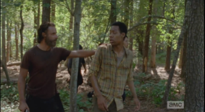 rick reaches out to slow noah