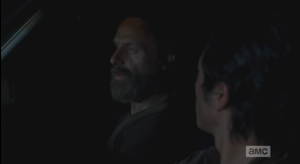 Everyone looks at Rick, who seems to be, like,