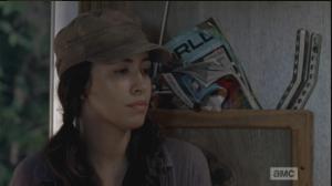 rosita is sad remembering