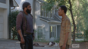 tyreese and noah at noah's house 1