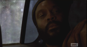 So, Tyreese lets go.
