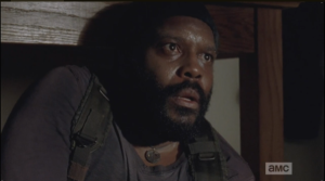 tyreese is haunted