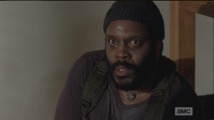 Tyreese is all like,