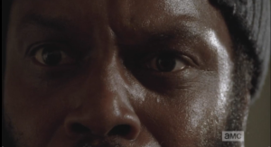 tyreese looks at pictures