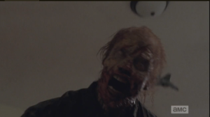 Second Act Walker, on full attack...poor Tyreese! Can't the man have his existential, near death moment in peace?