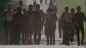 walkers getting closer