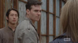 From behind Aidan, Glenn answers,