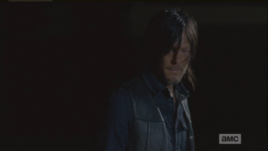 Daryl considers Aaron's offer.