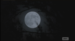 It's a crazy full moon out that night.