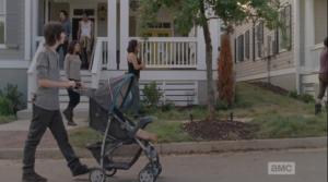 gang takes a neighborhood walk
