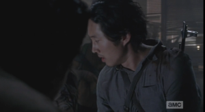 Glenn stops at this sound, horrified to realize that Aiden is still alive.