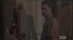 Look at how ghostly this pic came out...I got one like this before, of Michonne in the Terry and Mike sequence...it's like the Ghost of Hot Girly Michonne makes her appearance in these posts...bring it, Ghost of Hot Girly Michonne!  <3