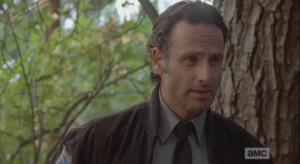 Rick replies that they need to do it, to break in and get the guns, sooner than later, while they are not being watched or monitored, whether or not they'll actually end up needing the guns. Carol is quick to reply that however it turns out, they'll need the guns.