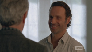 Rick smiles, diplomatically, and you know he's thinking,