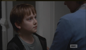 Personally, I am amazed by both Sam's bravery and the fact that he still likes cookies, after that Creepy Carol Cookie encounter the other night!