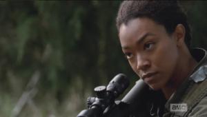 ...so Sasha sets her sights on the next target.